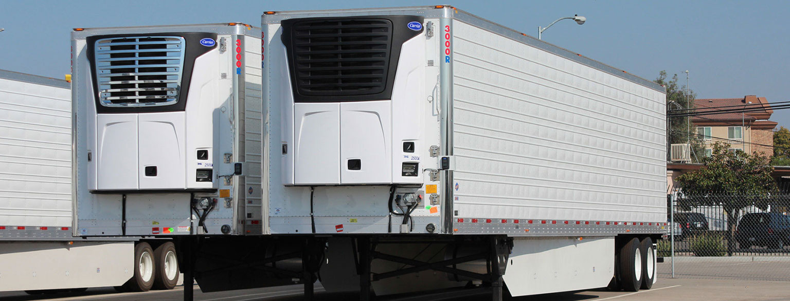 New and used Carrier Refrigeration Reefer Trailers