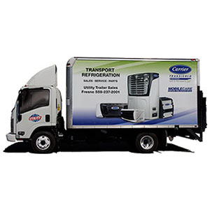 Carrier Refrigeration Mobile Repair Truck